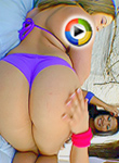 Alexis Texas On Ass Parade In A Scene Called Chillin On The Block