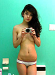 Horny campus cuties beeing sexy at home